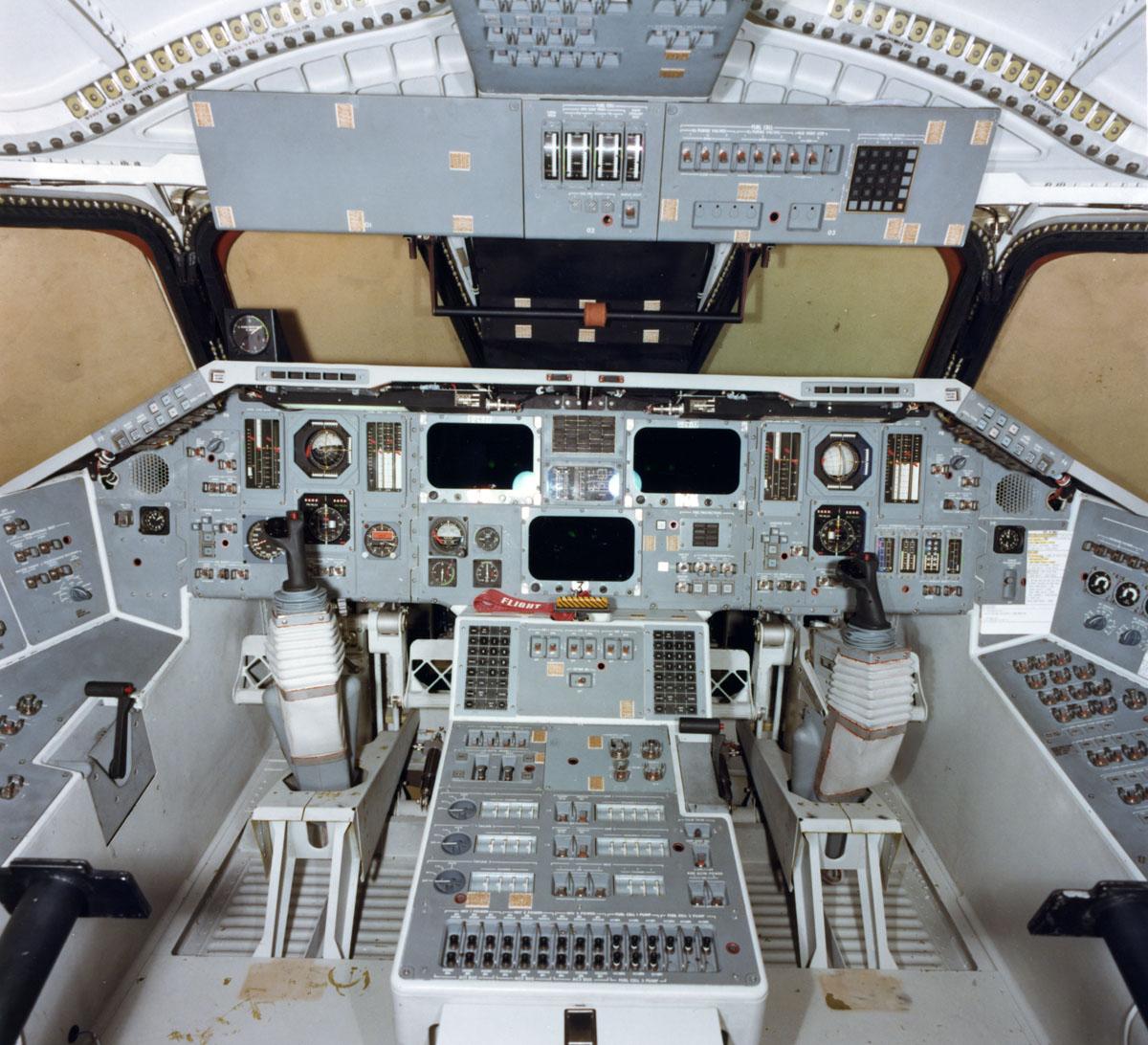 space shuttle enterprise cockpit -#main